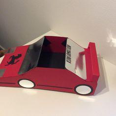 Sangskjuler Ferrari bil By Lindberg-Design.dk