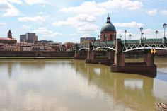 La Garonne in Toulouse. Check out my travel blog!