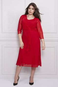 Queenspark Plus Collection Cold Shoulder Dress, Dresses With Sleeves, London, Long Sleeve, Collection, Fashion, Moda, Sleeve Dresses, Long Dress Patterns