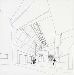 Peter Eisenman. A+U 252 Sep 1991. I think this is the Aronoff Center in Cincinnati, Ohio.