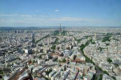 Vistas desde la torre de Montparnasse, París