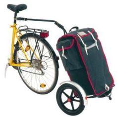 Bike-nod bike trailer. Shopping bag. Bike bag