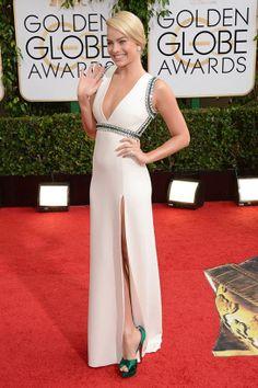 The Golden Globes 2014: Margot Robbie, Gucci, Christian Louboutin