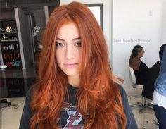 The Stir-Pretty Pumpkin Spice Hair Color Trend Is Everything