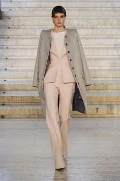 Stunning feminine tailoring by Antonio Berardi - powerful stuff