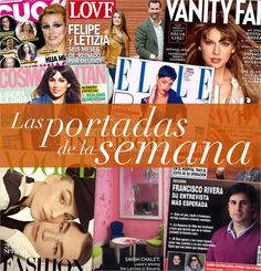 Las #portadas de la semana. #revistas