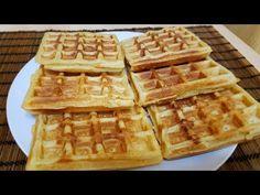 Συνταγή για βάφλες από τον Δημήτρη Τσολάκη και τα Μητσομαγειρέματα. Waffles, Pancakes, Menu, Breakfast, Recipes, Food, Youtube, Bakken, Menu Board Design