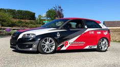 Implemented project with partial wrapping for AUDI S3