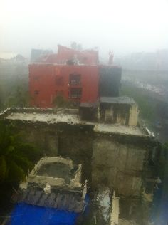 Monsoon in Mumbai.