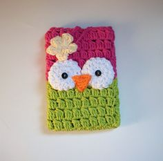 SALE Crochet Owl Kindle Cover Fire Kindle 4 by The5Princesses, $16.99
