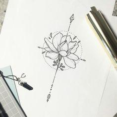 ▷ Ideas for Flower of Life Tattoo Designs- ▷ 1001 + Ideen für Blume des Lebens Tattoo Designs flower of life tattoo ideas, design of a beautiful flower, black paint on white - Mini Tattoos, Small Rib Tattoos, Trendy Tattoos, New Tattoos, Body Art Tattoos, Tattoos For Guys, Rib Tattoos For Women, Faith Tattoos, Badass Tattoos