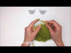 DROPS Knitting Tutorial: How to work shawl in DROPS 143-5 - YouTube