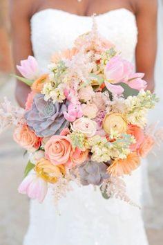 Le bouquet de la mariée: choisissez les bonnes fleurs | Mariages & Turbulettes