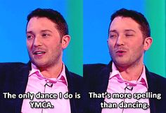 Jon Richardson :)   .    . Watched this episode last night, very funny.