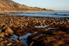 Rocky Beach of Southern California