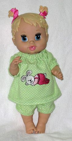 Baby Alive Doll Clothes  Sleepytime Bunny Spring by Dakocreations
