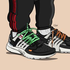 Sneakers Wallpaper, Shoes Wallpaper, Arte Dope, Dope Art, Sneaker Games, Sneaker Art, Rapper Art, Baskets, Nike Presto