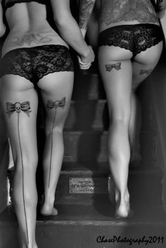 I love tats on the back of legs