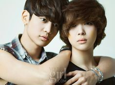 Min Ho and Choi Seol Ri in To the Beautiful You