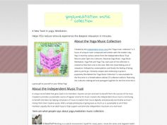 ① Yoga,meditation Music Collection - http://www.vnulab.be/lab-review/%e2%91%a0-yogameditation-music-collection