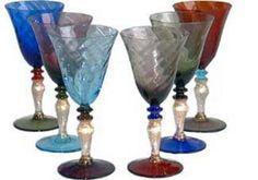 Nason Moretti wine glasses - Giorgia