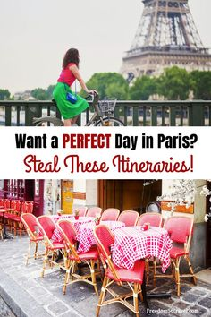 Spending one day in Paris is plenty of time to see what you want with these perfect Paris in a day itineraries. Museums, churches, shopping and more! Paris Travel Guide, Europe Travel Tips, European Travel, Travel Advice, Travel Guides, Travel Jobs, Europe Packing, Iceland Travel, Travel Deals