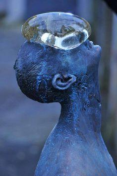 rain sculpture bronze and glass by nazar http://webneel.com/daily | Design Inspiration http://webneel.com | Follow us www.pinterest.com/webneel