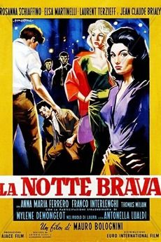 Jean-Claude Brialy and Laurent Terzieff in La notte brava directed by Mauro Bolognini, 1959 Claudia Mori, Laurent Terzieff, Pier Paolo Pasolini, Dominic Cooper, Inspirational Movies, See Movie, Big Night, French Films, Drama Film