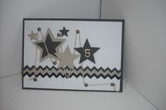 pinterest cards | Carole'sCreativeCritters: 5 Star Masculine card inspired by Pinterest