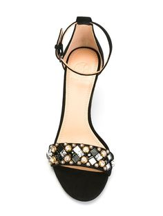 644156660 Shop Tory Burch embellished stiletto sandals in Apropos The Concept Store  from the world s best independent