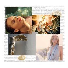 """""""Jennifer Lawrence as Nike, the Victory"""" by danicathorne ❤ liked on Polyvore featuring art"""