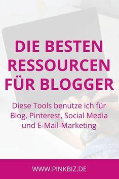 Die besten Ressourcen und Tools für Blogger