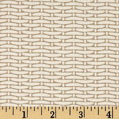 Magnolia Home Fashions Basket Weave Sand Fabric By The Ya...
