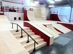 interior skatepark - Google Search