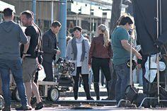 "Ginnifer Goodwin, Josh Dallas, and Jennifer Morrison - Behind the scenes - 6 * 1 ""The Savior"" - 13th July 2016"