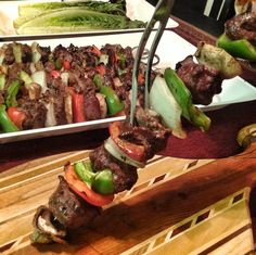 Just the thought of grilled venison backstrap will make your mouth water. With its flavorsome and tender qualities, grilled venison backstrap is . Elk Recipes, Kabob Recipes, Venison Recipes, Cooking Recipes, Healthy Recipes, Game Recipes, Yummy Recipes, Fish Recipes, Recipies