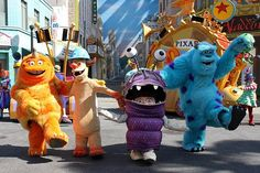 Monster's, Inc. characters in Disney World