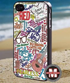 Taylor swift lyric  iPhone 4/4s/5 Case  by MickeyMerchandise, $15.00