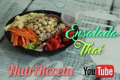 NutriReceta: Ensalada Nutritiva de Medallones de ATÚN (Nutrivera)