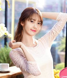 Welcome to FY! GIRLS GENERATION, the best source for photography, media, news and all things related to the girl group Girls' Generation. Pinkish Brown Hair, Girls Generation, Yoona Innisfree, Snsd Fashion, Im Yoon Ah, Yoona Snsd, Idole, Kim Tae Yeon, Famous Girls
