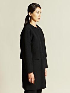 Ava Catherside Women's Casentino Felted Wool Parka Coat | LN-CC