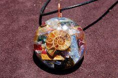 Indigo Light Show - Orgone Energy Pendant - Ascension Tool - Crystal Healing