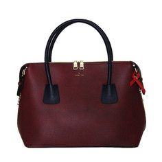 Moa Tote Wine Navy, $165, now featured on Fab.