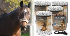 ElectroBraid® is a permanent electric fence designed especially for horses and is considered to be the safest, most secure fence!