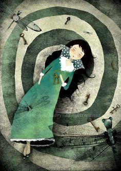 The Spiral of dreams by AnneJulieAubry.deviantart.com on @deviantART
