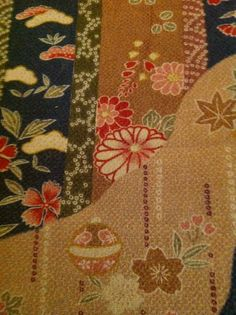 From my collection of chirimen fabric..........v
