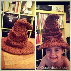 Harry Potter Sorting Hat  - free Harry Potter crochet patterns