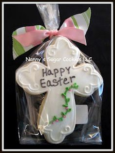 love this cross from Nannys Sugar Cookies