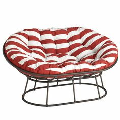 Candy cane christmas on pinterest peppermint candy for Triple papasan chair