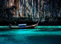 'Longboat off Phi Phi Island' by Angela McConnell Wonderful Places, Great Places, Places To See, Beautiful Places, Amazing Places, Phuket Travel, Thailand Travel, Phuket Thailand, Dream Vacations